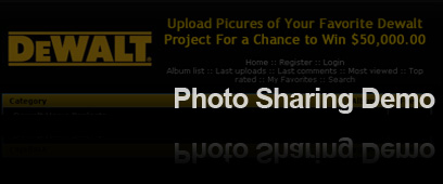 Photo Sharing Demo